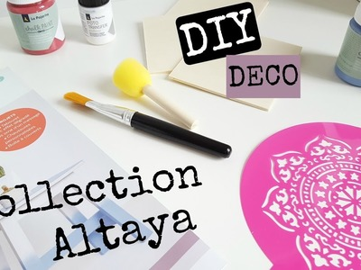 DIY DÉCO. CUSTOMISATION AVEC LA COLLECTION CHALK PAINT ALTAYA