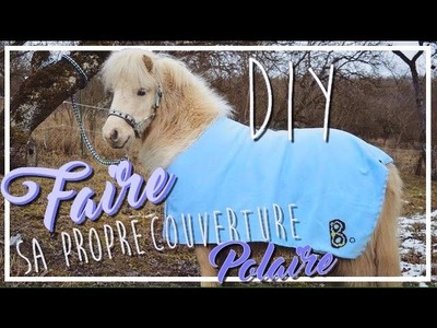 DIY ✂ :  Faire sa propre couverture polaire ❄️