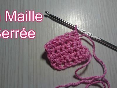 "Tuto Crochet "" Leçon N°2 ""Mailles Serrée"""