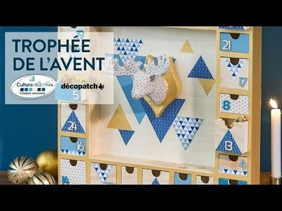 Tuto DIY : Trophée de l'Avent - Noël Nordic