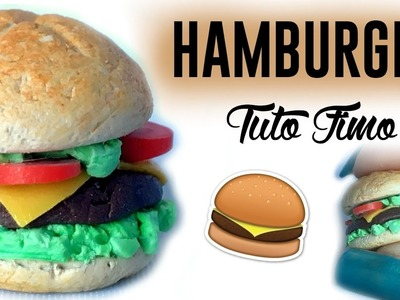 • [TUTO FIMO] Hamburger Polymer Clay Tutorial  •
