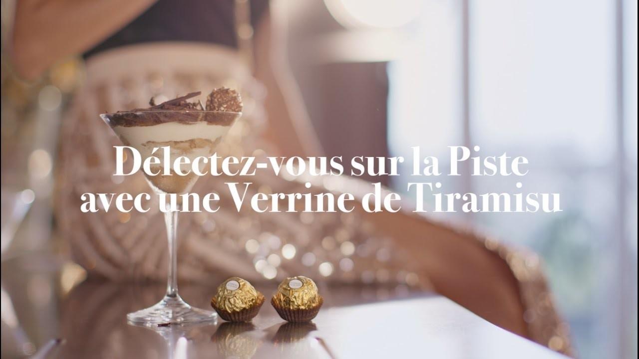 Tuto recette tiramisu - DIY Atelier des Fêtes Ferrero Rocher