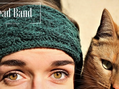 TUTO TRICOT - DIY - HEAD BAND A TORSADES