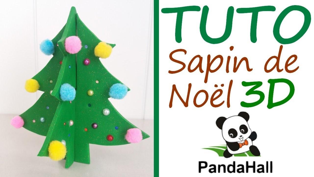 Tutoriel Fimo - Sapin de Noël en 3D avec PandaHall.com. Polymer Clay Tutorial - 3D Christmas Tree
