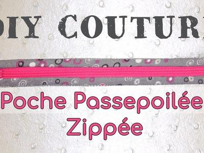 Coudre une Poche Passepoilée Zippée - Tuto Couture DIY