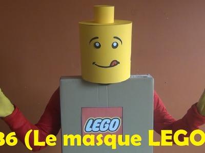 DIY - Bricolage à faire à la maison #36 (Le masque LEGO)