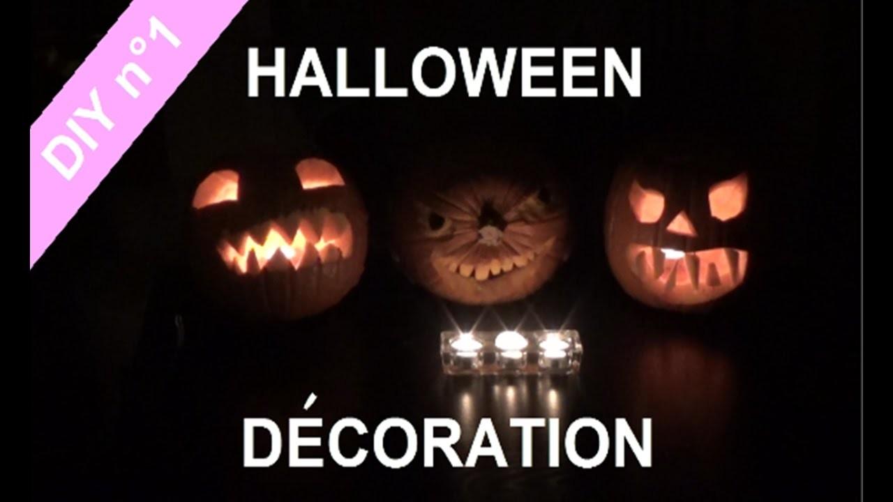 [DIY n°1] :  DECORATION POUR HALLOWEEN