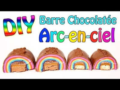 DIY RAINBOW CHOCOLATE - CARL IS COOKING