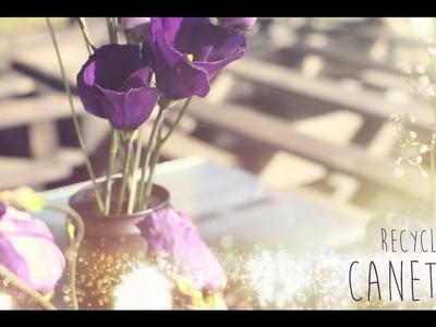 ♡ DIY . Recycler ses Canettes en Vase ♡