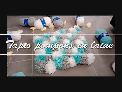 [DIY] : Tapis en pompons de laine  (#action)