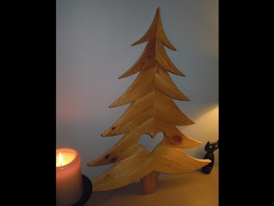 Fabriquer un Sapin de Noël. How to make a Christmas tree