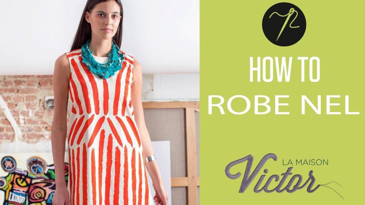 Robe Nel: une robe de créateur DIY