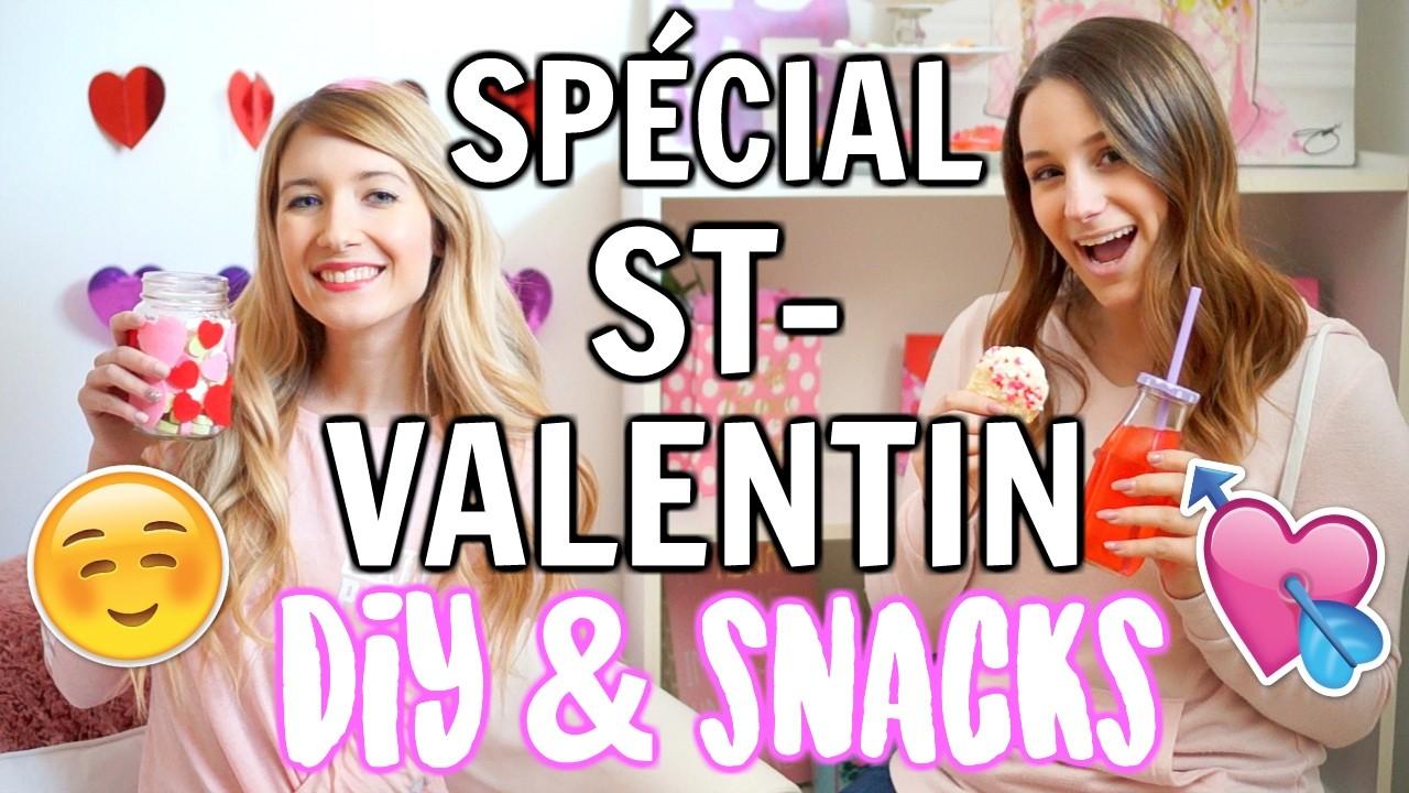 SPÉCIAL ST-VALENTIN | DIY & Snacks!