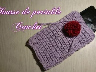 """Tuto Crochet """"Housse de portable"""""""