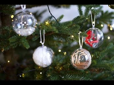 DIY : Boules de Noël 100% maison