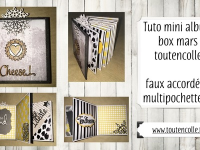 Tuto mini album box mars