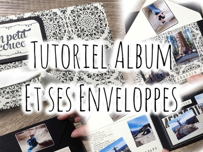 [Tutoriel n°5] : Album d'enveloppes | Scrap with Steph - YouTube