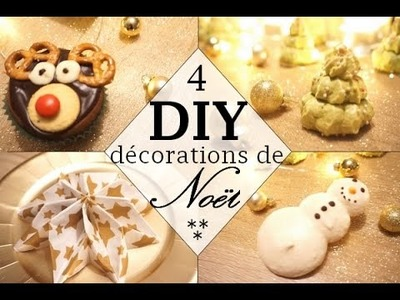 DIY DECO TABLE DE NOEL