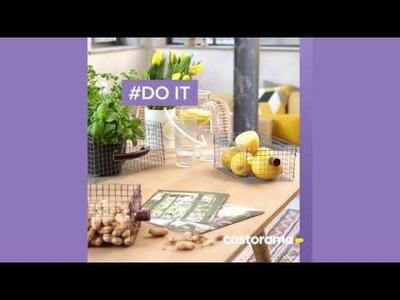 DIY : fabriquer des corbeilles en grillage - Castorama