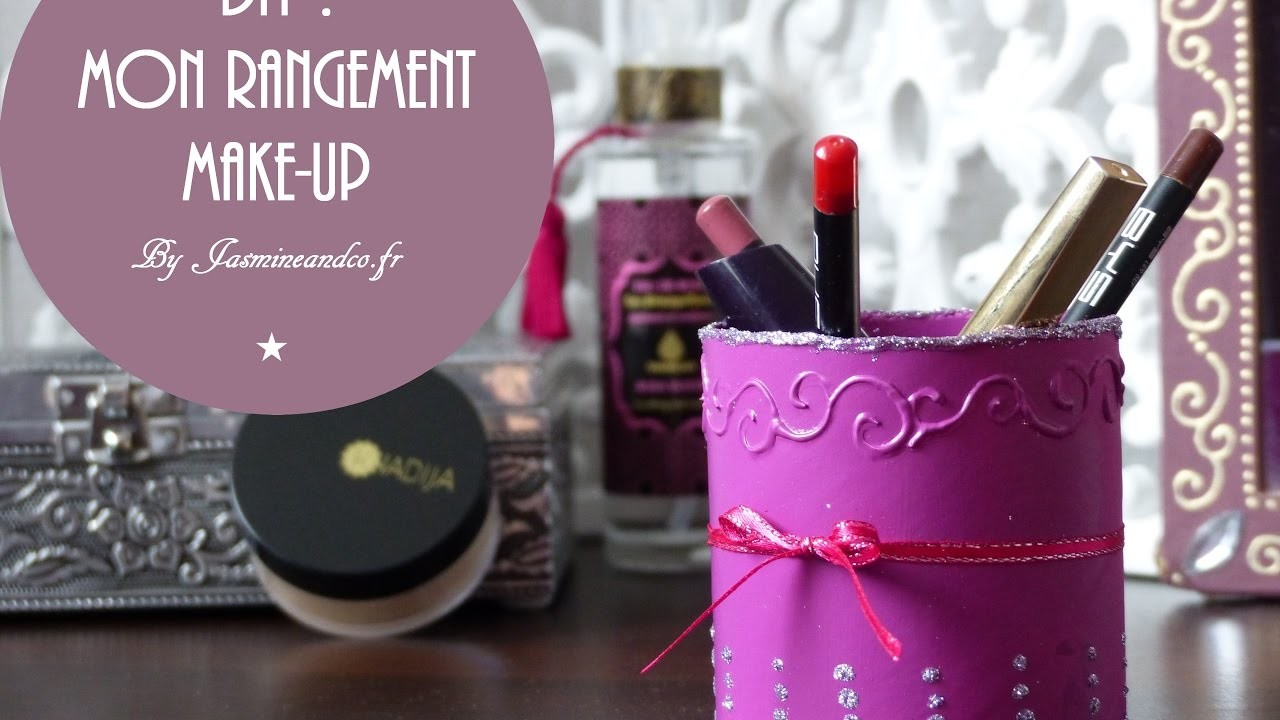 diy mon rangement make up. Black Bedroom Furniture Sets. Home Design Ideas