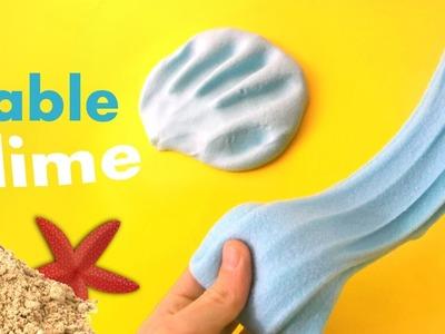 Comment faire du sable slime - diy slime - tuto slime - Gloopy Slime