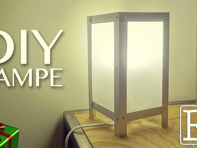 Fabriquer une lampe - idée cadeau - DIY facile. ⓇⒷ