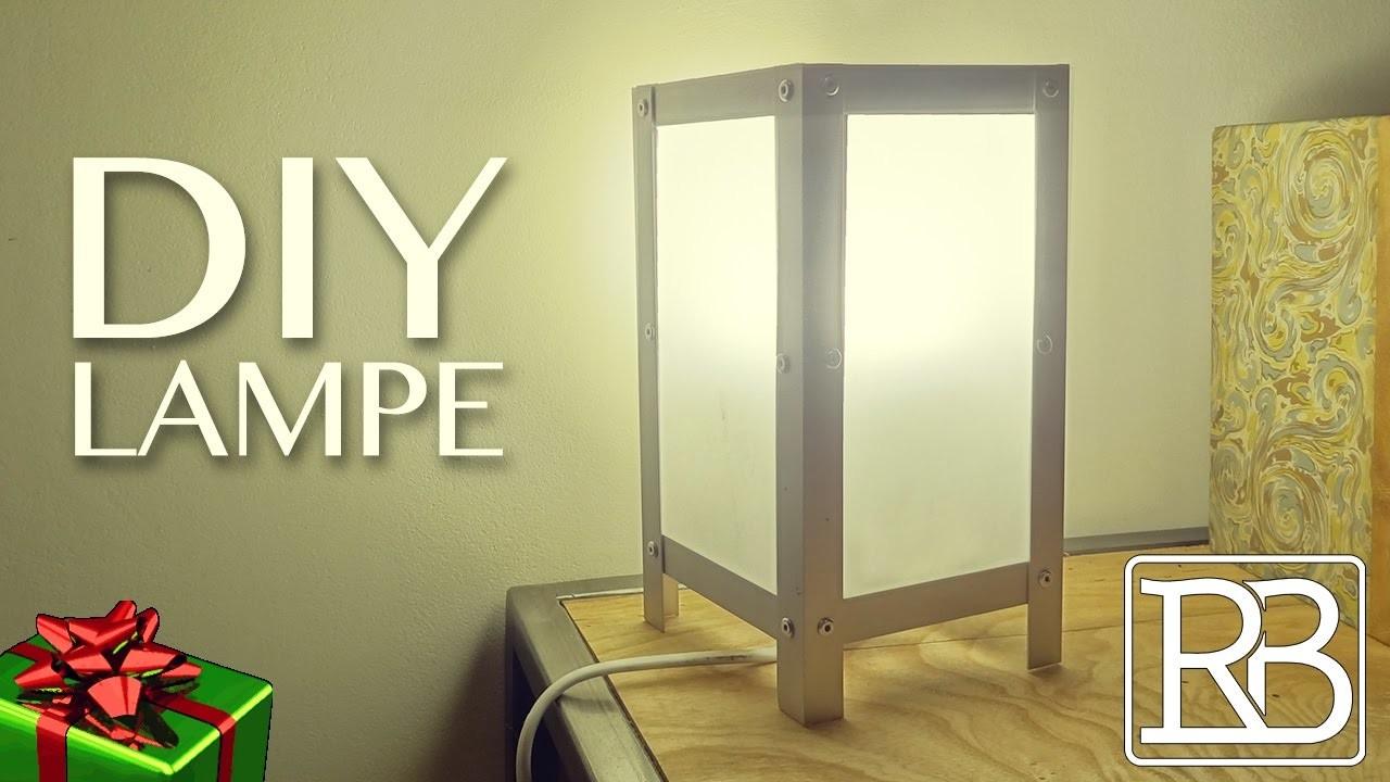 fabriquer une lampe id e cadeau diy facile. Black Bedroom Furniture Sets. Home Design Ideas