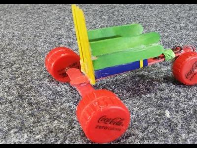 Faire Tricycle 9v - Mini voiture électrique DIY - jouet - recyclage - kids toy