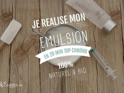 TEASER - DIY Je réalise mon émulsion 100% Naturel & Bio