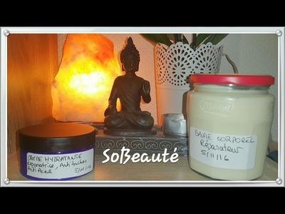 ⭐[Tuto DIY]⭐Baume.crème corporelle hydratante et réparatrice peau très sèche et atopique⭐