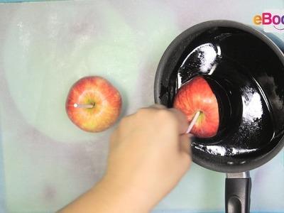 Tuto DIY : Comment faire des pommes d'amour noires