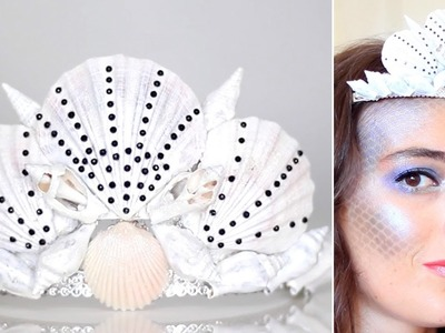 Tuto DIY Couronne de Coquillages ⎟DIY Costume Sirène