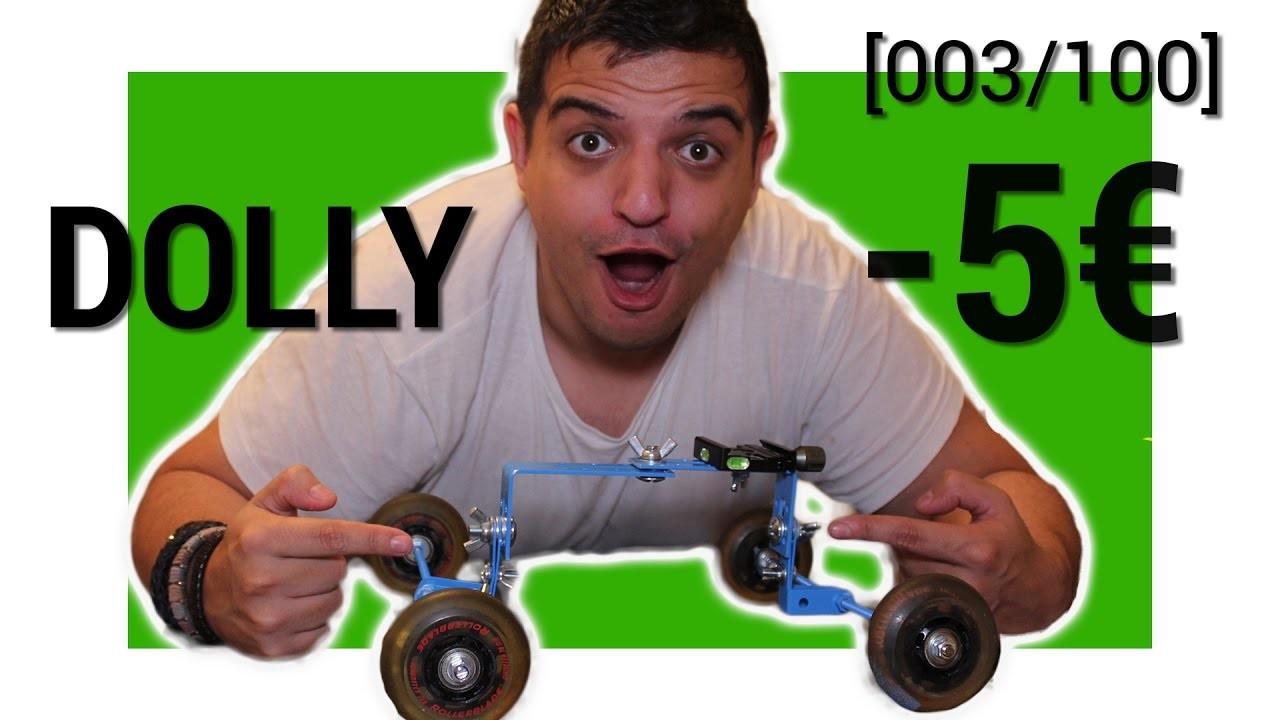 TUTO.  DIY : DOLLY. SLIDER -5€  003.100]