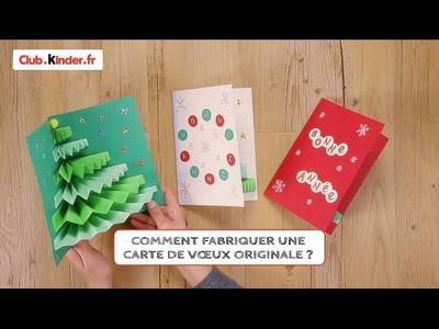 Club.kinder.fr - DIY - Comment fabriquer une carte de voeux originale