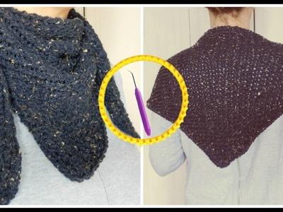 [ DIY ] Chèche au tricotin circulaire
