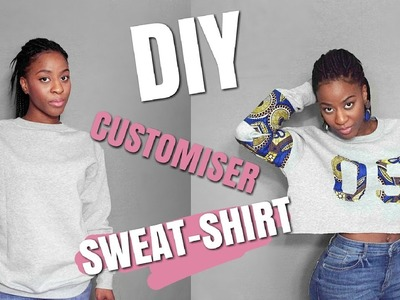 DIY CUSTOMISER UN SWEAT-SHIRT || L'atelier de princesse