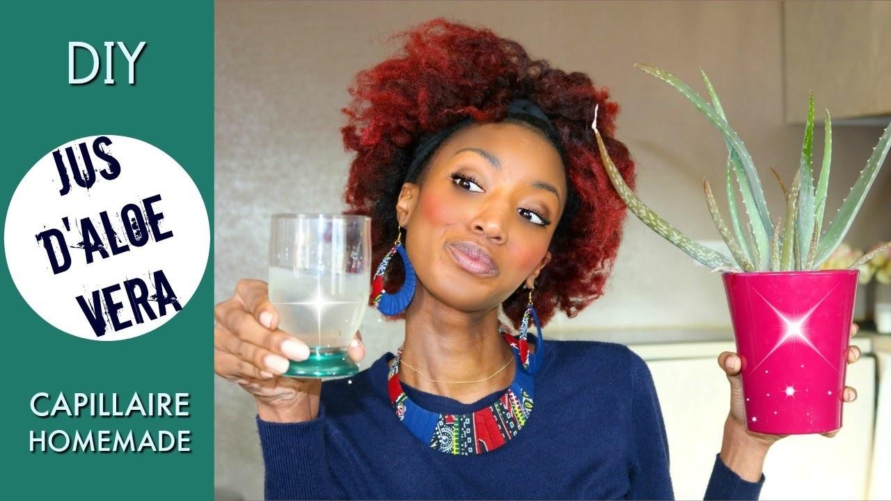 DIY -  Jus d'Aloe Vera Capillaire Homemade !