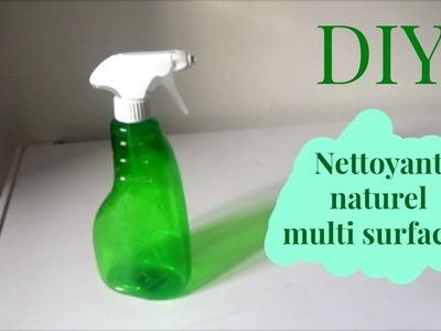 DIY   nettoyant naturel multi surfaces