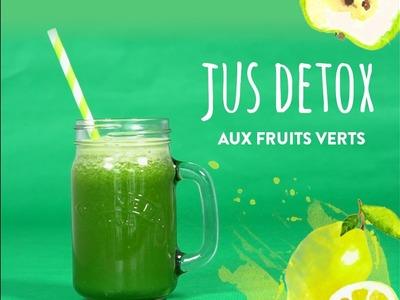 Jus detox aux fruits verts - DIY Westwing France