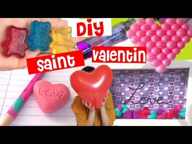 Reva ytb┃DIY cadeaux & décoration saint valentin