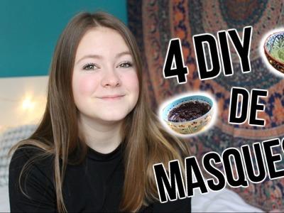 4 DIY DE MASQUES!