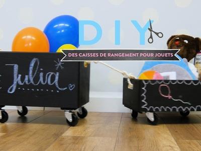 Caisses de rangement pour jouets - DIY Westwing France