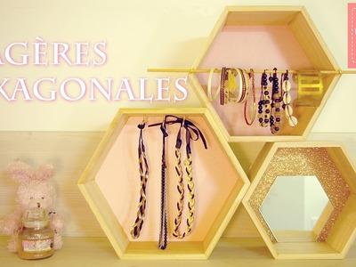 DIY | Des étagères hexagonales personnalisées
