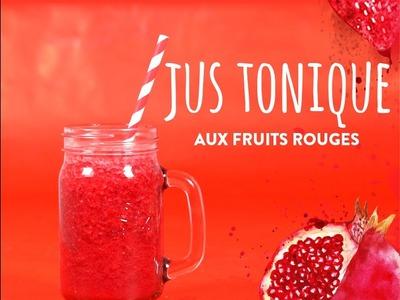 Jus tonique aux fruits rouges - DIY Westwing France