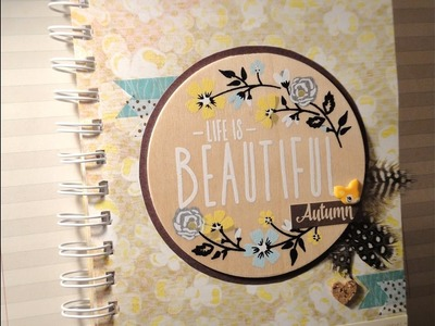 "Mini album ""Autumn""        -scrapbooking-"