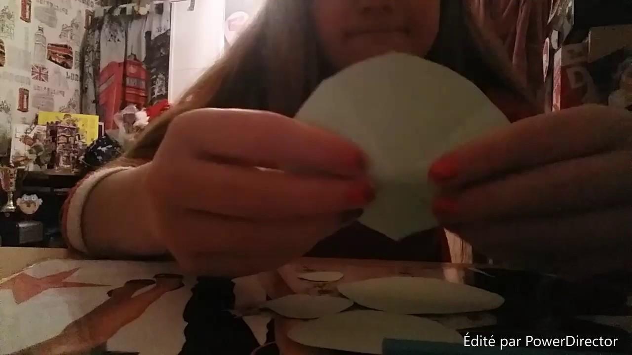 DIY Comment faire un sapin de noel en papier Théme de Noel!!