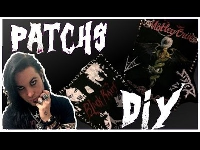 DIY - Les Patchs de groupes - Ray Hell