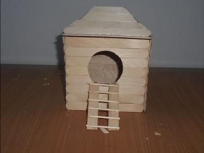 DIY maison hamster #9