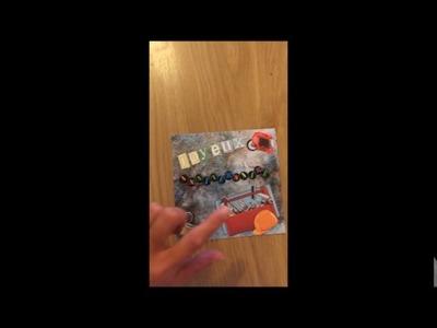 Mes cartes de scrapbooking 2