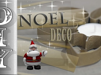 Noel deco couronne coeur! christmas decoration!